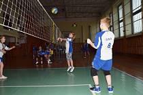 Dvacet dětí se v neděli 1. března zúčastnilo kladrubského turnaje v minivolejbalu.