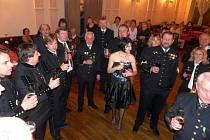 Hornický ples ve Stříbře.
