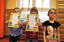 Předškoláci ze Záchlumí dostali své první vysvědčení