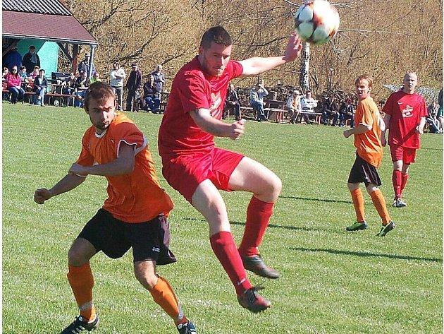Fotbal, osmnácté kolo okresního přeboru druhé třídy: Stráž vs. Erpužice