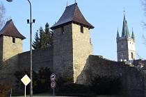 Část tachovských hradeb