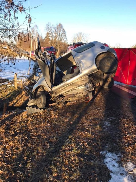 Dopravní nehoda u Mlýnce.