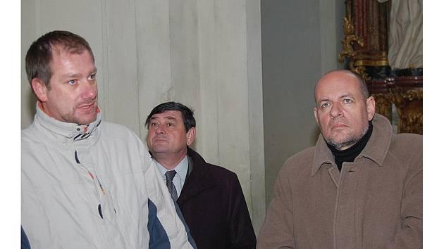 Klášter v Kladrubech navštívil včera 30. listopadu v poledne v rámci své pracovní cesty do Plzeňského kraje ministr kultury Václav Jehlička