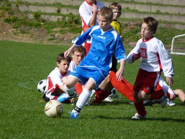 Krajský přebor starších a mladších žáků ve fotbalu