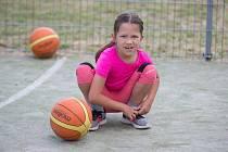 V Tachově proběhl nábor mladých zájemkyň o basketbal.