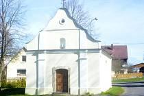 Kaple Panny Marie Královny Míru v Lomu u Tachova.