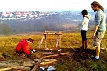PRÁCE je na Vysoké v Tachově ještě dost. Teď už počká do jara.