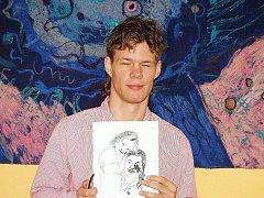 Libor Wagner představuje jednu ze svých kreseb