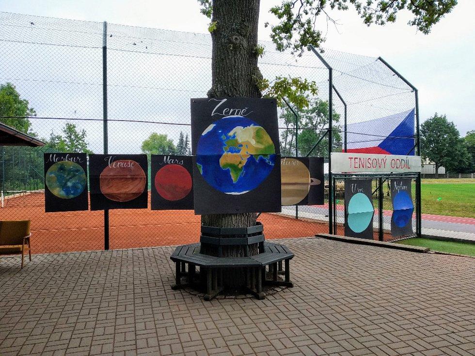 Z letního sportovního kempu v Chodové Plané.