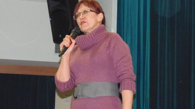 Hostem kladrubského Klubového večera byla v pátek dietoložka Kateřina Cajthamlová