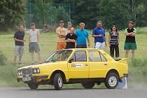 Rallye show Velký Rapotín