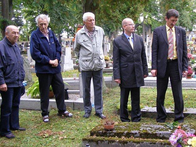 Poslanec uctil oběti nacismu
