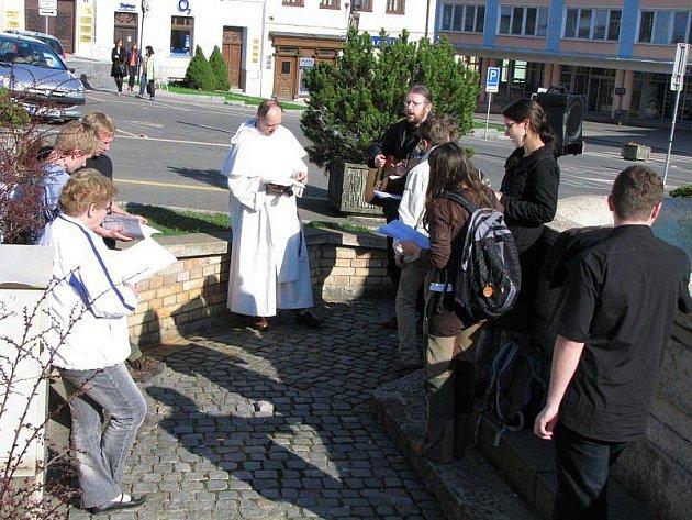 Misionáři besedovali s Tachovany