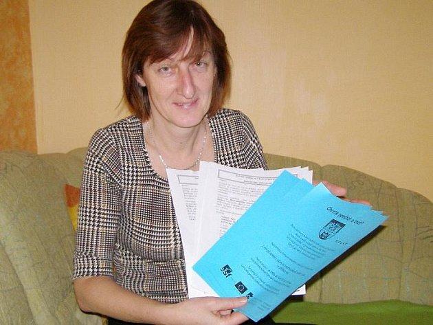 Koordinátorka plánování sociálních služeb Božena Nenutilová.