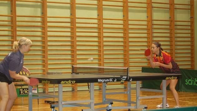 Borské družstvo prohrálo v extralize žen stolního tenisu v Hodoníně 2:8 a 1:9