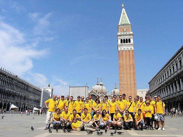 Dechový orchestr mladých navštívil Itálii