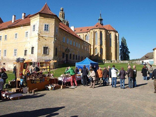V klášteře v Kladrubech se konalo Havelské posvícení.
