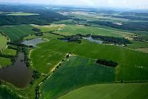 Rybníky východně od Přimdy.