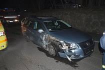 Na VW Passat byla vyčíslena škoda na sto dvacet tisíc korun
