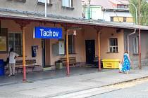 Budovu tachovského nádraží čeká rekonstrukce.