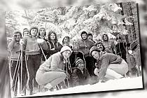 Ilustrační snímek z roku 1974 z Krušných hor