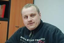 Velitel lestkovských hasičů František Vacata.