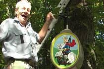 Druhý promítaný film nese název Bohuslavský sv. Jiří. Snímek pojednává o tachovském hledači Václavu Vobořilovi, který opravil zničený pomník.