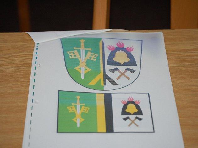 Návrh znaku a praporu Milířů je zatím jen na papíře, obec čeká na schválení.