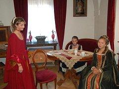 Také v Muzeu Českého lesa se návštěvníci tachovských Dnů evropského dědictví na pár chvil přenesli do historie