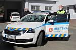 Nové služební vozidlo Městské policie Tachov