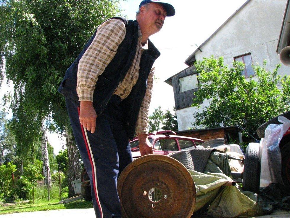 Na sraz veteránů pojede i Tatra z Čečkovic
