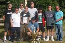 Vítězný celek Letního poháru 2020 v Damnově DDR Tým.
