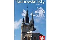 Titulní strana úvodního čísla Tachovských listů.