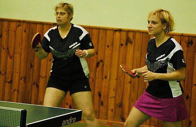 Druhá liga ve stolním tenisu měla na programu další dvojkolo a borské ženy v něm hostily pražské celky S. Nusle B a El Niňo.