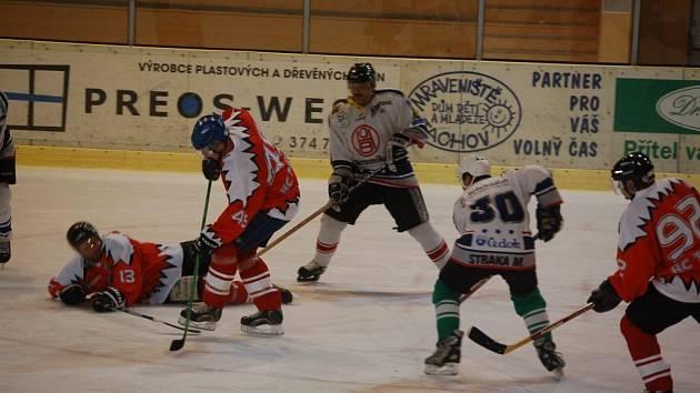 Hokej, Tachov - Rokycany 0:4