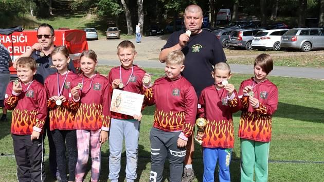 Kladrubští dobrovolníci slavili jubileum a soutěžili.