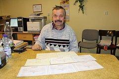 Josef Pavlas je v Trpístech starostou od roku 1990.