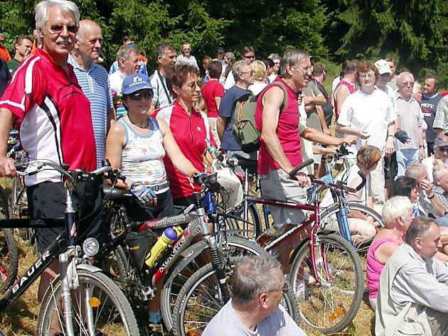 Tachovsko je mezi rekreanty vyhledávané také kvůli husté síti cyklotras a cyklostezek.