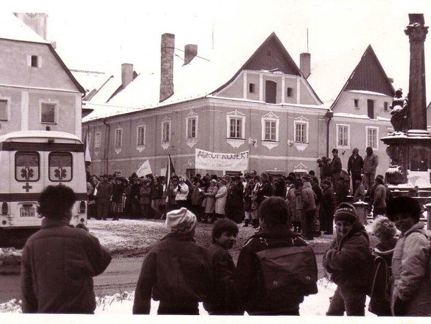 Generální stávka před 25 lety.