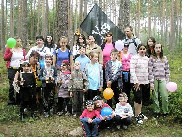 Piráti cestovali za pokladem