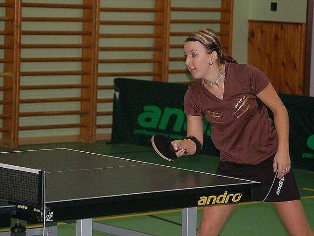 Stolní tenis – extraliga žen: S. Bor TeVo Caesar – ČSAD Hodonín A 0:10 (3:30)