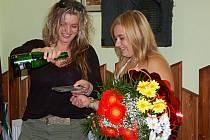 Aneta Adamová pokřtila v pátek 21. září  večer v Country clubu v Heřmanově Huti své první cédečko