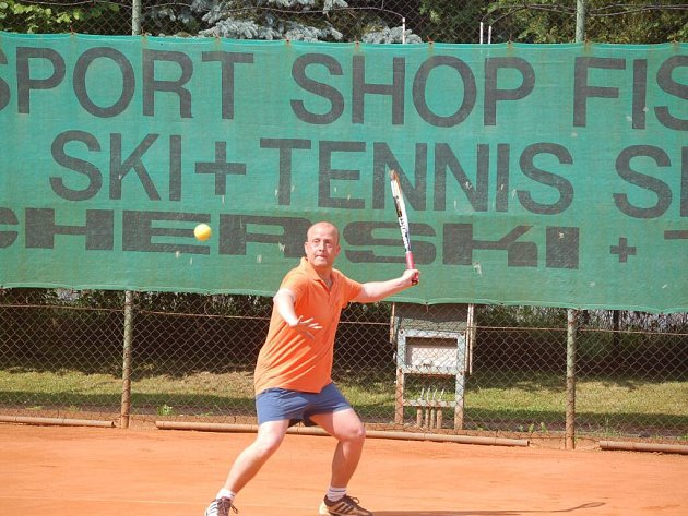Hrál se další turnaj tenisového seriálu V.I.P.