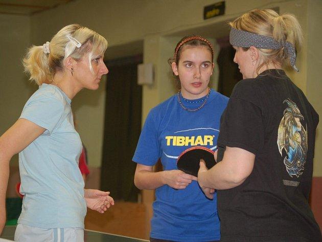 Stolní tenis – divize žen: S. Bor TeVo B – S. Plzeň V C 3:7 a S. Plzeň V D 10:0
