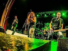 Stříbrská metalová skupina Coward.