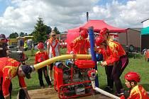 Sbor dobrovolných hasičů v Halži pořádá vždy na konce července hasičskou soutěž o Pohár starosty Halže.