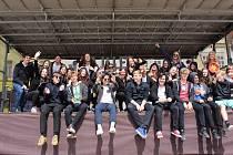 Účastníci studentského Majáles ve Stříbře.