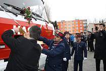 Stříbrští hasiči si v sobotu převzali repasovanou zásahovou cisternu.