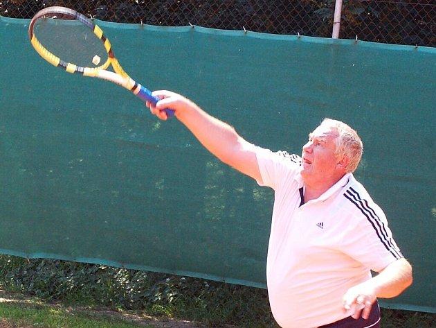 V tenisovém areálu S. Planá se vzpomínalo.