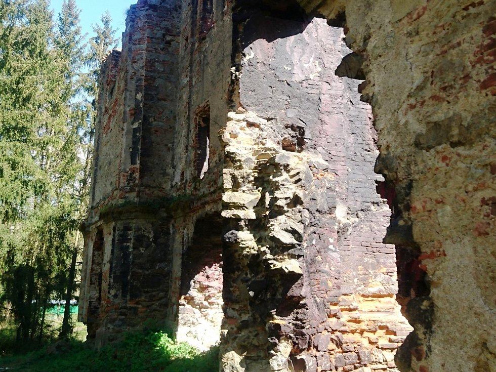 Kostel sv. Jana Křtitele, kde se natáčela pohádka Z pekla štěstí II.
